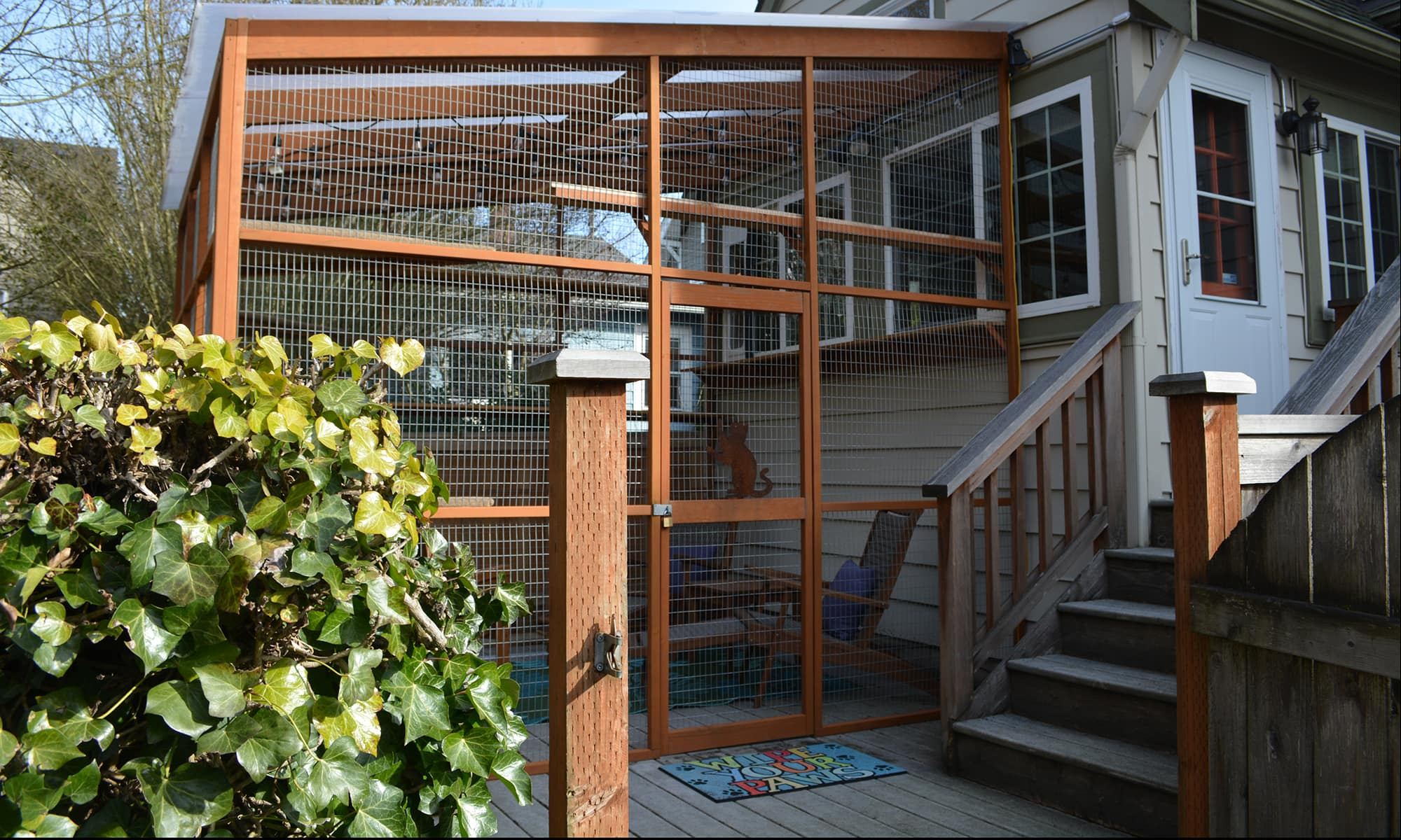 Outdoor Enclosures For Cats Paws